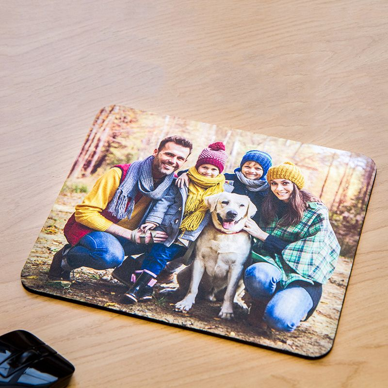 Personalised Photo Mouse Mat Gift For The  Home or Office